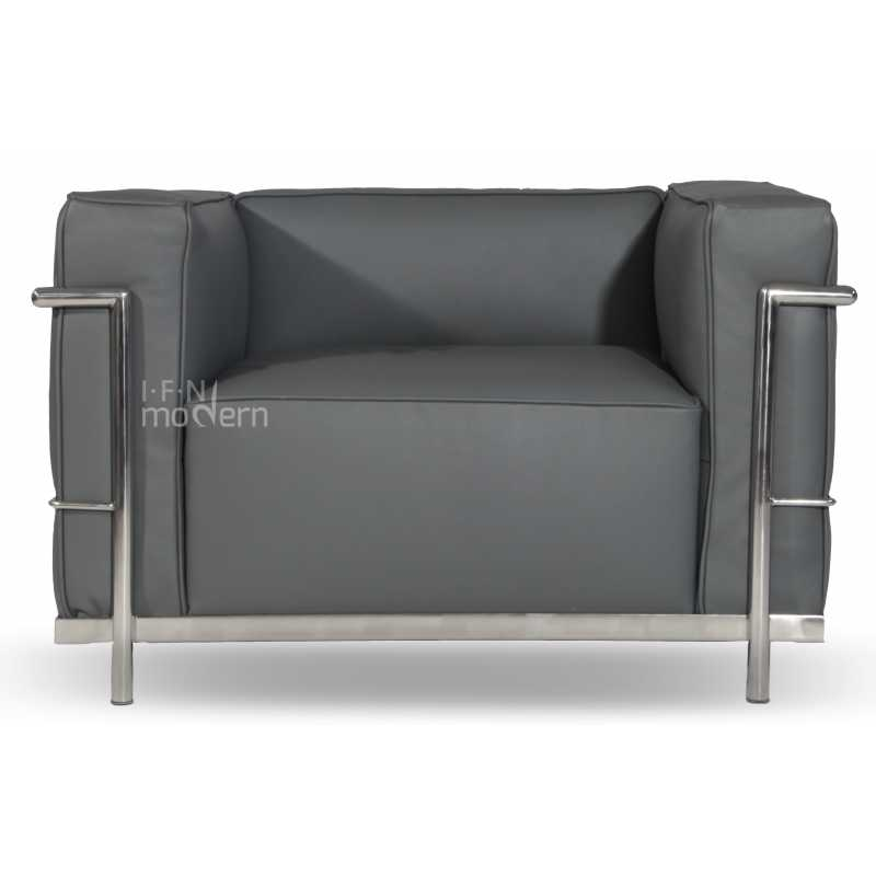 le corbusier lc3 style chair. Black Bedroom Furniture Sets. Home Design Ideas